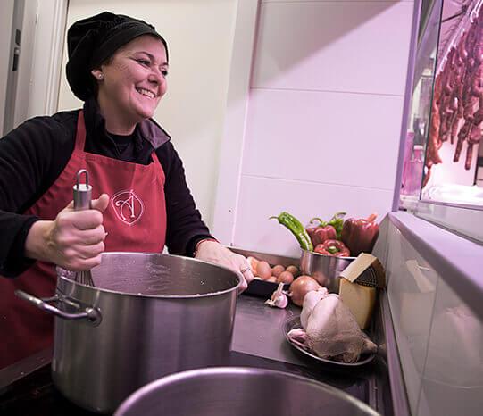 Cocina casera en bilbao