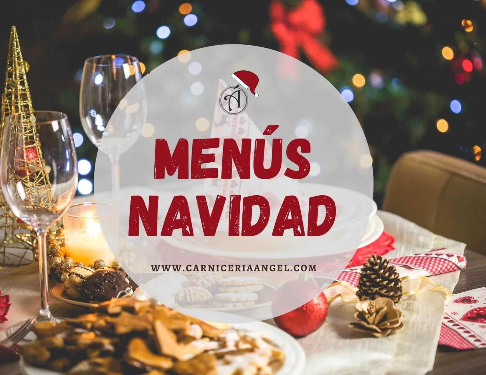 Menús de Navidad en Carnicería Ángel